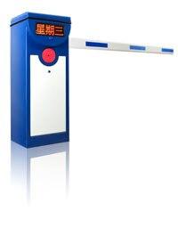 LED screen barrier gate
