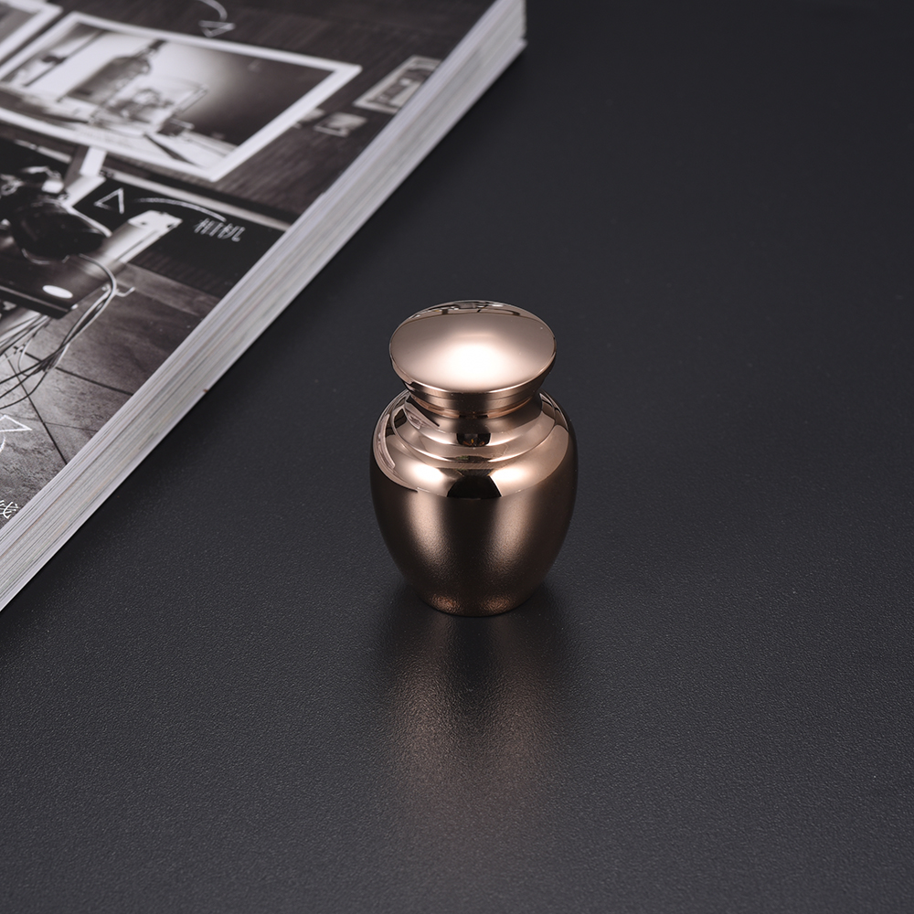IJD0001 NEW DESIGN!!!Silver,Gold,Rose Gold,Black,Blue,Gun Stainless Steel Mini Cremation Urns Ashes Holder Keepsake Lockets