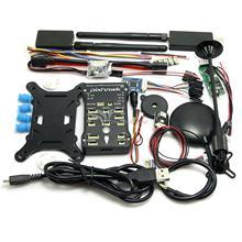 (Позолоченный Разъем) Pixhawk PX4 2.4.7 32bit Полет Контроллер с GPS NEO-6M 3DR OSD 915 МГц/433 МГц Передачи