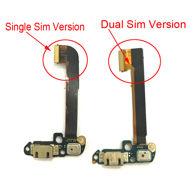 Original USB Charge Dock Connector Charging Port Flex For HTC One Dual Sim 802t 802d 802w /One M7 Micro Usb Cable Replacement