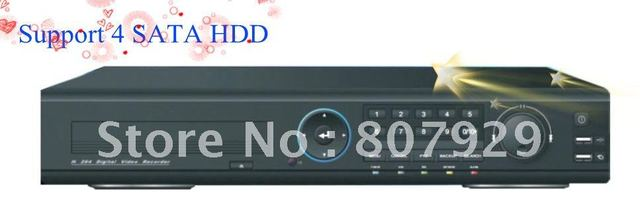 CCTV FULL real-time D 1  16 CH H.264 compression stand alone DVR. 3G function,support 4 SATA HDD