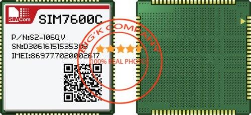 Hspa + – Simcom 100% Novo & Original Lte-tdd – Lte-fdd Td-scdma Gsm Gprs Edge Frete Grátis Lcc Sim7600c Cat4 Lte