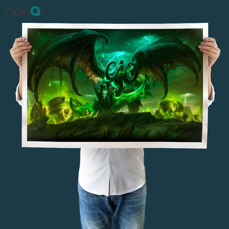World Of Warcraft Canvas Painting Art Print Painting Poster Wall Pictures For Room Home Decoration Wall Decor No Frame