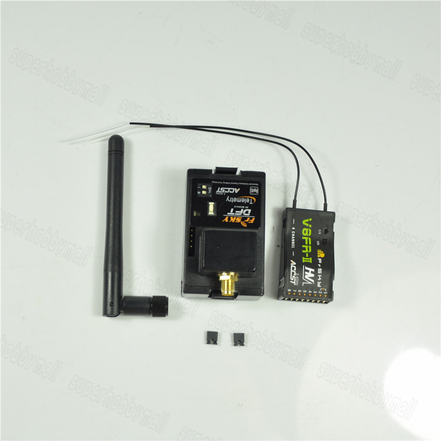 FrSky DFT 2.4Ghz Combo Pack for Futaba w Telemetry Module & V8FR-II RX frsky dft 2 4ghz combo pack for futaba w telemetry module & v8fr ii rx