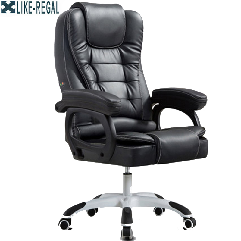 Furniture Office manager Rotating massage chair furniture office manager rotate armrest chair