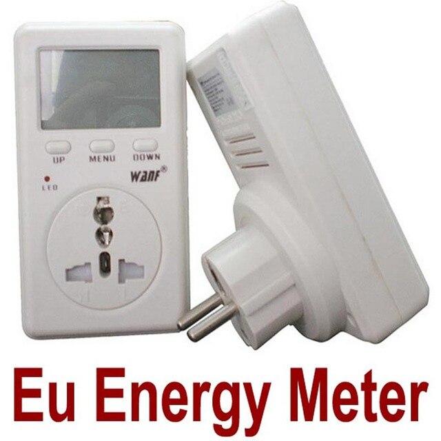digital watt meter Power Meter AC WATT Power Energy kwh EU Voltage Meter Monitor