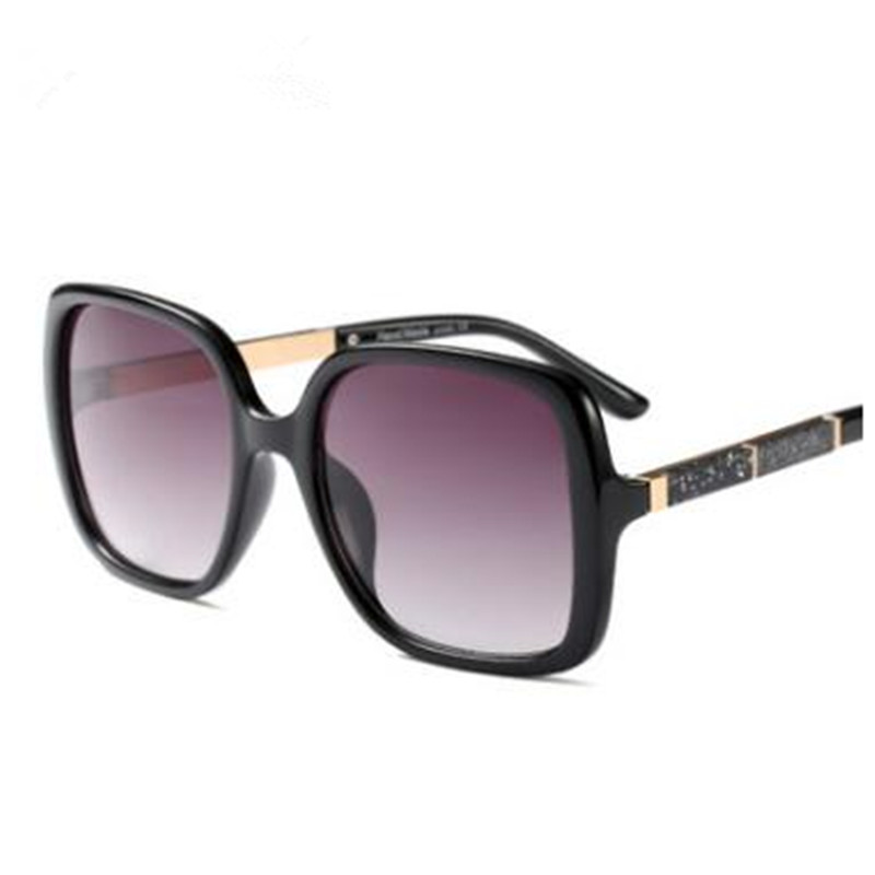 2018 Hot Sale Fashion big frame square street shot retro Men women uv400 Sunglasses Vintage Brand star Designer PC-169