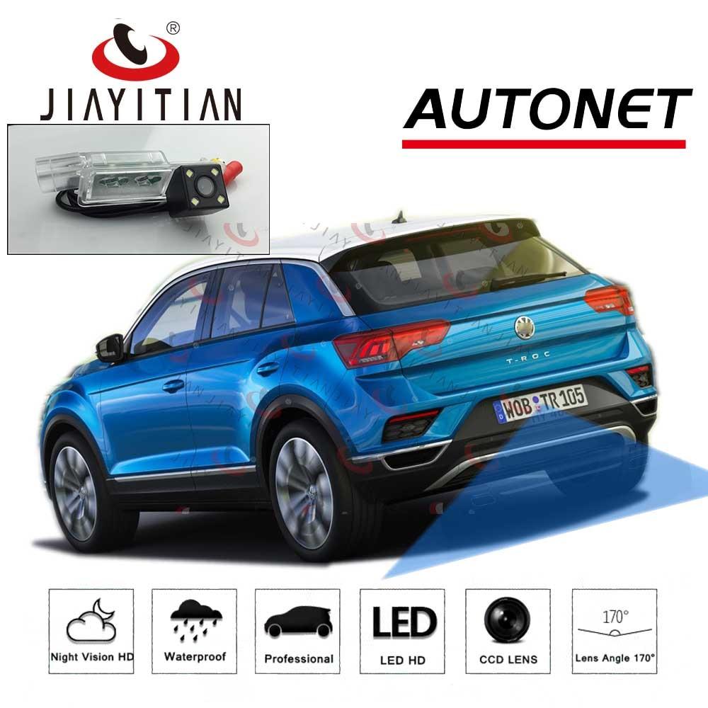 JIAYITIAN Rear View Camera For Volkswagen VW Troc T-Roc 2017 2018 2019/CCD/Reverse Camera/Backup Camera/license Plate Camera