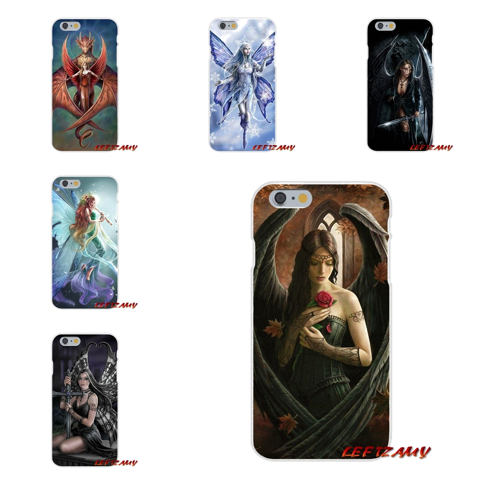 anne stokes original Slim Silicone phone Case For Huawei G7 P8 P9 p10 Lite 2017 Honor 5X 5C 6X Mate 7 8 9 Y3 Y5 Y6 II