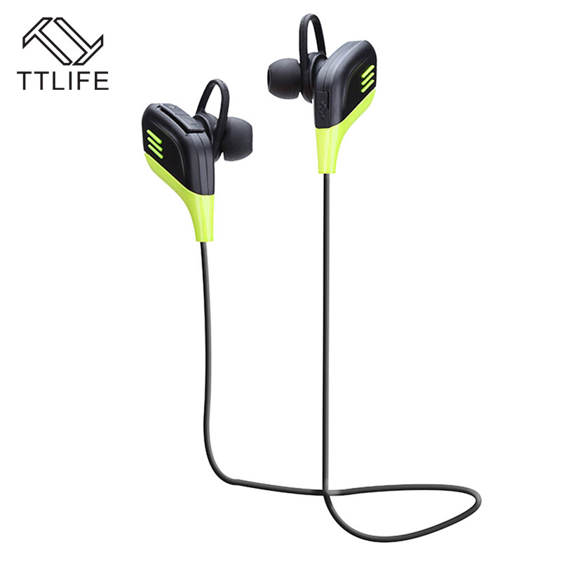 TTLIFE 2017 Bluetooth V4.1 Stereo Earphones Sport Music Headsets Wireless Headphones With Mic for iPhone 7 xiaomi Mobile Phones 2017 ttlife mini wireless earphone bluetooth headsets airpods with mic 2 in 1 with car charger for iphone 7 xiaomi mobile phones