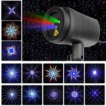 Лазерный проектор, водонепроницаемый с 24 шаблонами изображений