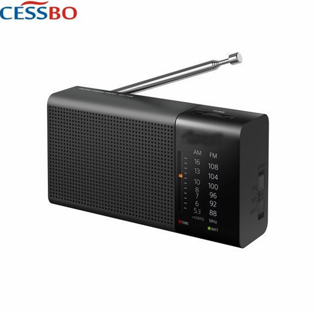 High Quality Portable Digital Radio FM AM Speaker Music Player Built-In Speaker With 3.5mm Earphones Port AM FM Radio Free Ship
