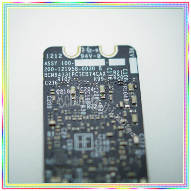 Original Bluetooth 4.0 Wifi Airport Card BCM94331PCIEBT4CAX for Macbook Pro A1278 A1286 A1297 2011 2012 цена