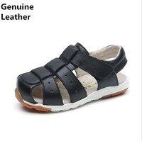 Zwart-wit & Blauw 1 paar Orthopedische zomer Kinderen Sandalen, Kid/schoenen Lederen Sandalen schoenen