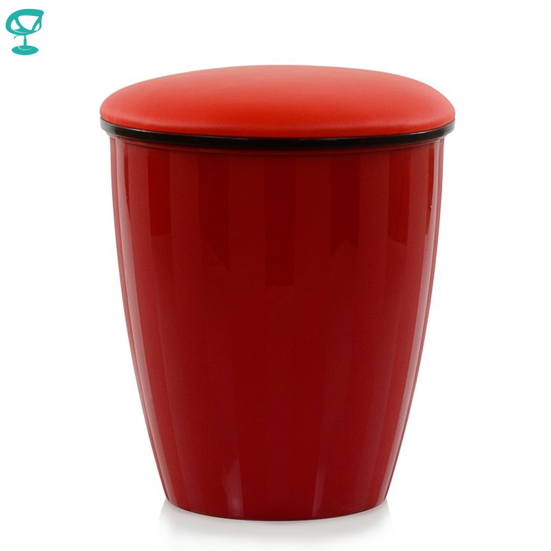 95227 Barneo N-13-2 Plastic Kitchen Breakfast Interior Stool Bar Chair Kitchen Furniture Red Free Shipping In Russia