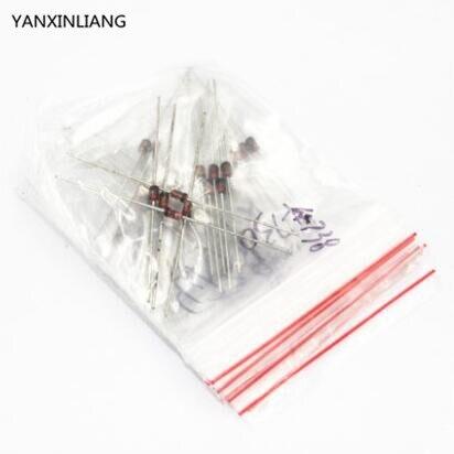 Купить с кэшбэком 1W Zener diode 3.3V-30V 14valuesX5pcs=70pcsElectronic Components PackageZener diode Assorted Kit