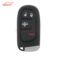 Kigoauto GQ4 54T Smart Key for Dodge Ram 1500 2500 3500 434mhz 3 Button with panic 2013 2014 2015 2016 2017 remote key