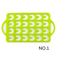 1 Piece 4 6 Green Color Moulds Cookies Biscuits Cutting Molds Shapes Sheet Cutter Kitchen Utensils