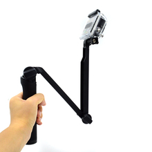 WLJIAYANG 3 Way Selfie Monopé Aperto Tripod Mount Para Gopro Hero 5 4 3/3 + 2 SJ4000 Sessão Xiaomi Yi 4 K acessórios Da Câmera