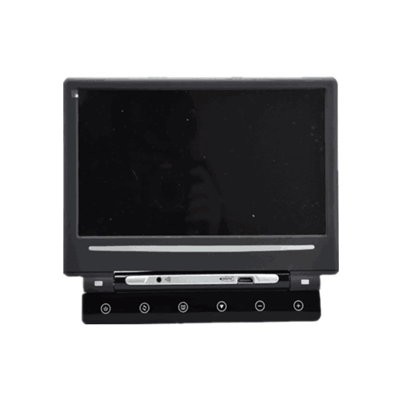 цена Car headrest DVD monitor Game Player Back Seat Multimedia System 12V 10.1 Inch LED 1280*800 Card Slot HDMI Audio Video JD-1018M в интернет-магазинах