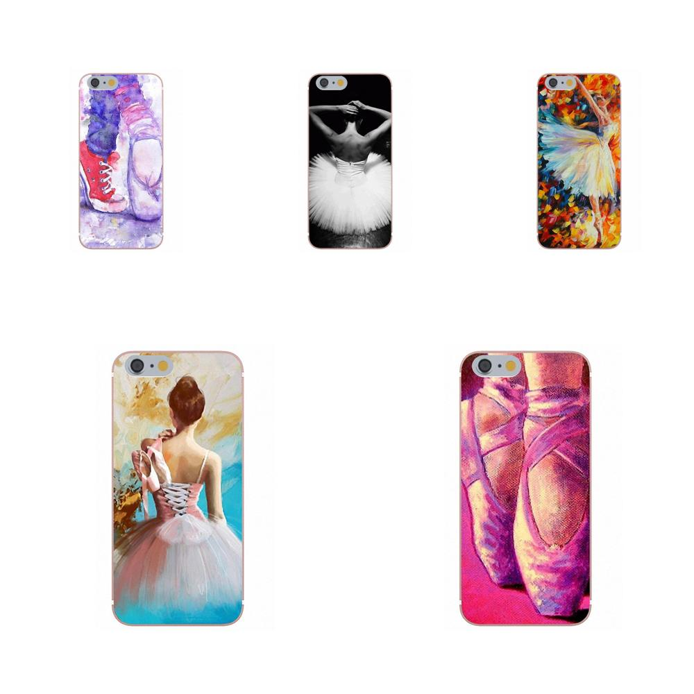 Half-wrapped Case Soft Covers Capa Ballet Shoes Dancing Girl For Apple Iphone 4 4s 5 5c Se 6 6s 7 8 Plus X For Lg G3 G4 G5 G6 K4 K7 K8 K10 V10 V20 Top Watermelons Cellphones & Telecommunications