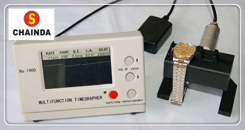 Weishi Latest Professional Brand New Mechanical Watch Timing Tester Machine Multifunction Timegrapher NO. 1900 hot sell weishi no 6000iii multifunction timegrapher watch timing machine for watch repair