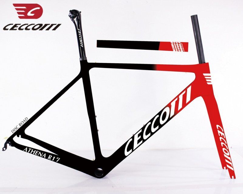 Carbon Road Bike Frame V Brake Frame Carbon Road BB86 Carbon Fiber Bike Frame 46/50/52cm CECCOTTI New Design