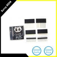10 יחידות עבור WeMos יומן נתונים לוגר חומת Micro SD WIFI D1 מיני דירקטוריון + RTC DS1307 שעון לarduino