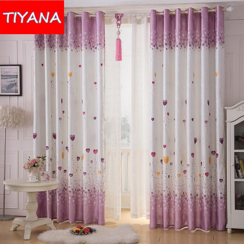 ballon corao projeto cortain para quarto cortinas feitas sob encomenda para livng quarto cortinas blackout cortina