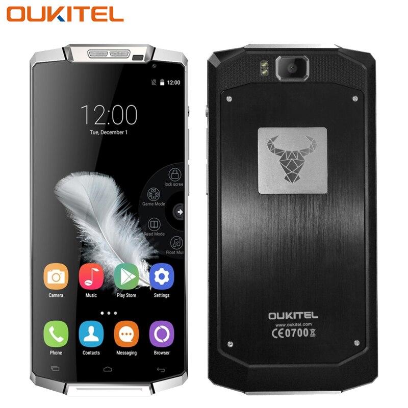 bilder für Original Oukitel K10000 Smartphone TK6735P Quad Core 10000 MAH Batterie Android 5.1 Handy 5,5 zoll 2G/3G/4G Handy