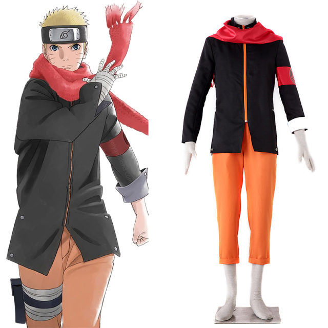 Man cosplay clothing Anime Naruto Cosplay The last Shippuden Uzumaki Naruto Costume Menu0027s Cosplay Costume Free  sc 1 st  AliExpress.com : naruto costums  - Germanpascual.Com