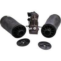 Complete Set of Rear Air Ride Suspension Bag + Air Pump For Mercedes R Class W251 06 11 2513200425 A2513200325 Airmatic Shock