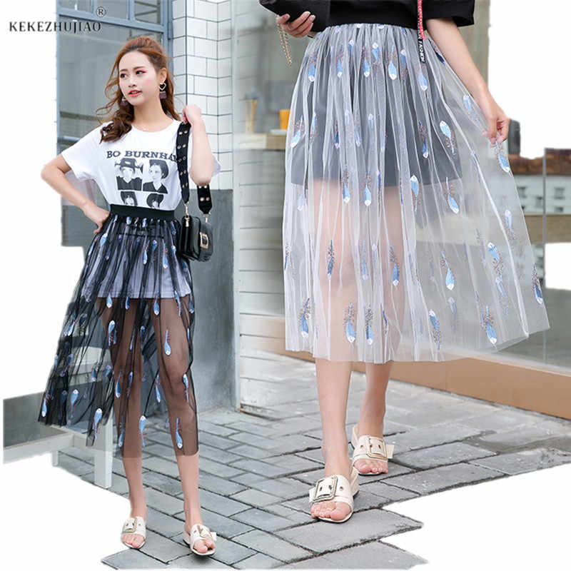 863d65ff56c53 Detail Feedback Questions about Embroidery One Layer Tulle Mesh ...