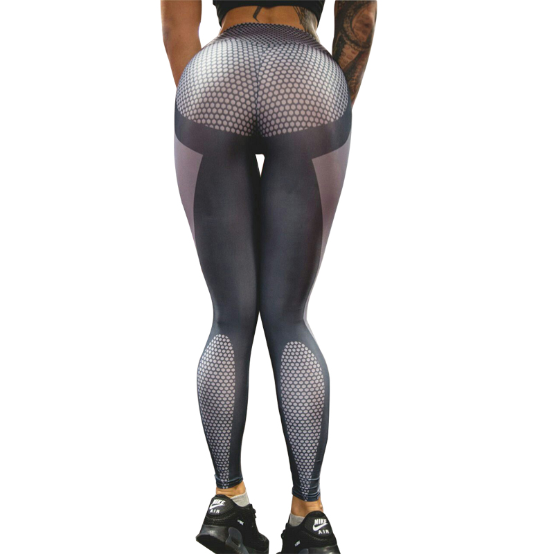 2017 Women Bodybuilding Tight Pants Yoga Fitness Running Tights Leggings Yoga Pants Fitness Sex Femme Push Up Club Active Wear Счастье