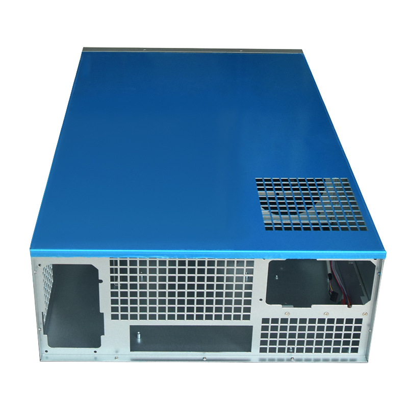 19 inch rackmount Crypto coin rack mining rig frame gpu holder USB miner panel computer case sever mechine chassis  R9 370 RX480