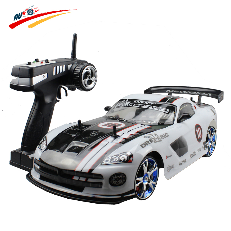 Large RC Car 1:10 High Speed Racing Car For Dodge Viper Championship 2.4G 4WD Radio Control Sport Drift Racing  electronic toy