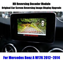 Parking-Camera Rearview W176 Mercedes-Benz Reverse-Reversing HD for Decoder