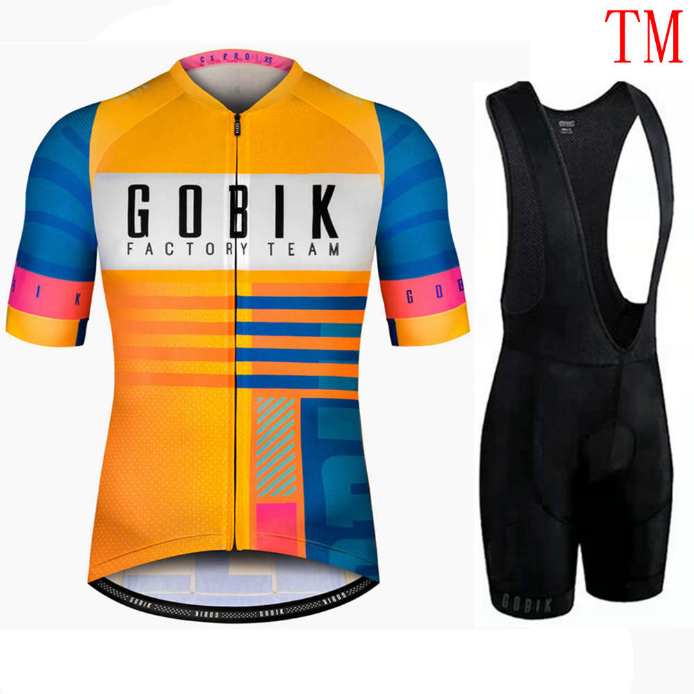 Men Summer Cycling Jersey Set Breathable MTB Bicycle Cycling Clothing Mountain Bike Wear Clothes Maillot Ropa