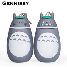 280 ml Vakuum Cartoon Totoro Thermosflasche Aus Edelstahl Thermische Tassen 0-6 stunden wärme Für Wasser Licht Kinder Totoro Thermocup
