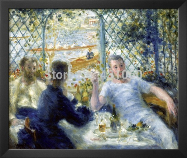Poster 24x36 inch Pierre Auguste Renoir By the Water