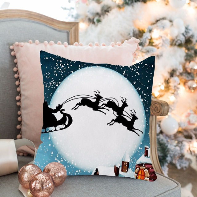 Christmas Pillow Merry Christmas Decoration For Home 4