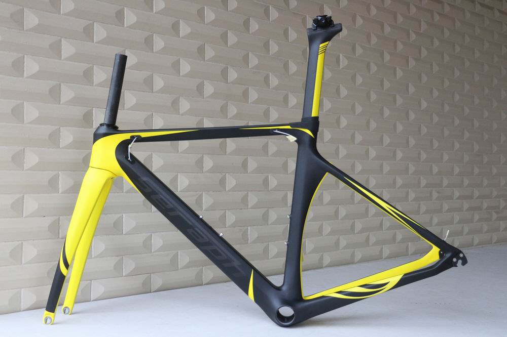 seraph brand TT-X1 carbon road carbon frame factory sale , OEM product Di2 road carbon bike frame
