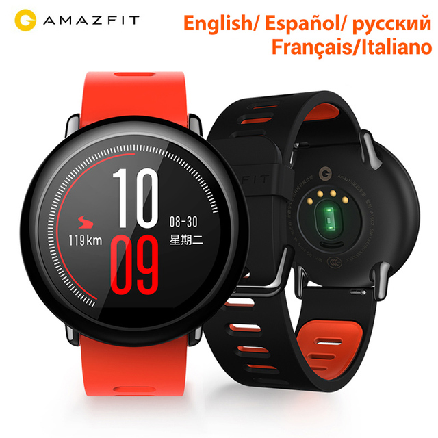 [Global Version]Huami Amazfit Pace Smartwatch Amazfit Smart Watch Bluetooth GPS Information Push Heart Rate Intelligent Monitor