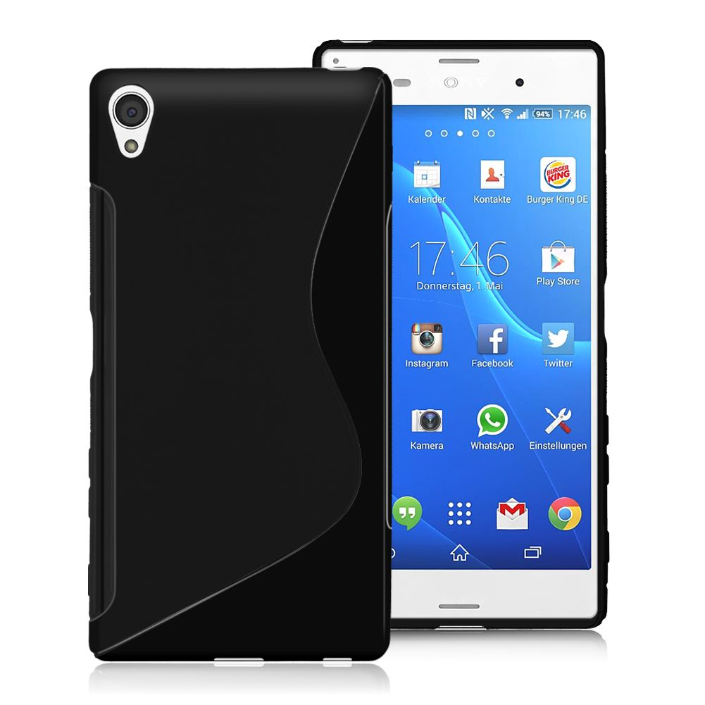 Ultrathin Slim S Line Soft Tpu Silicon Gel Skin Transparent Cover Imak Crystal Case 1st Series Sony Xperia M4 Aqua Hardcase Transparant For Z3 Z5 Compact Mini Phone Cases Bag In Fitted From Cellphones