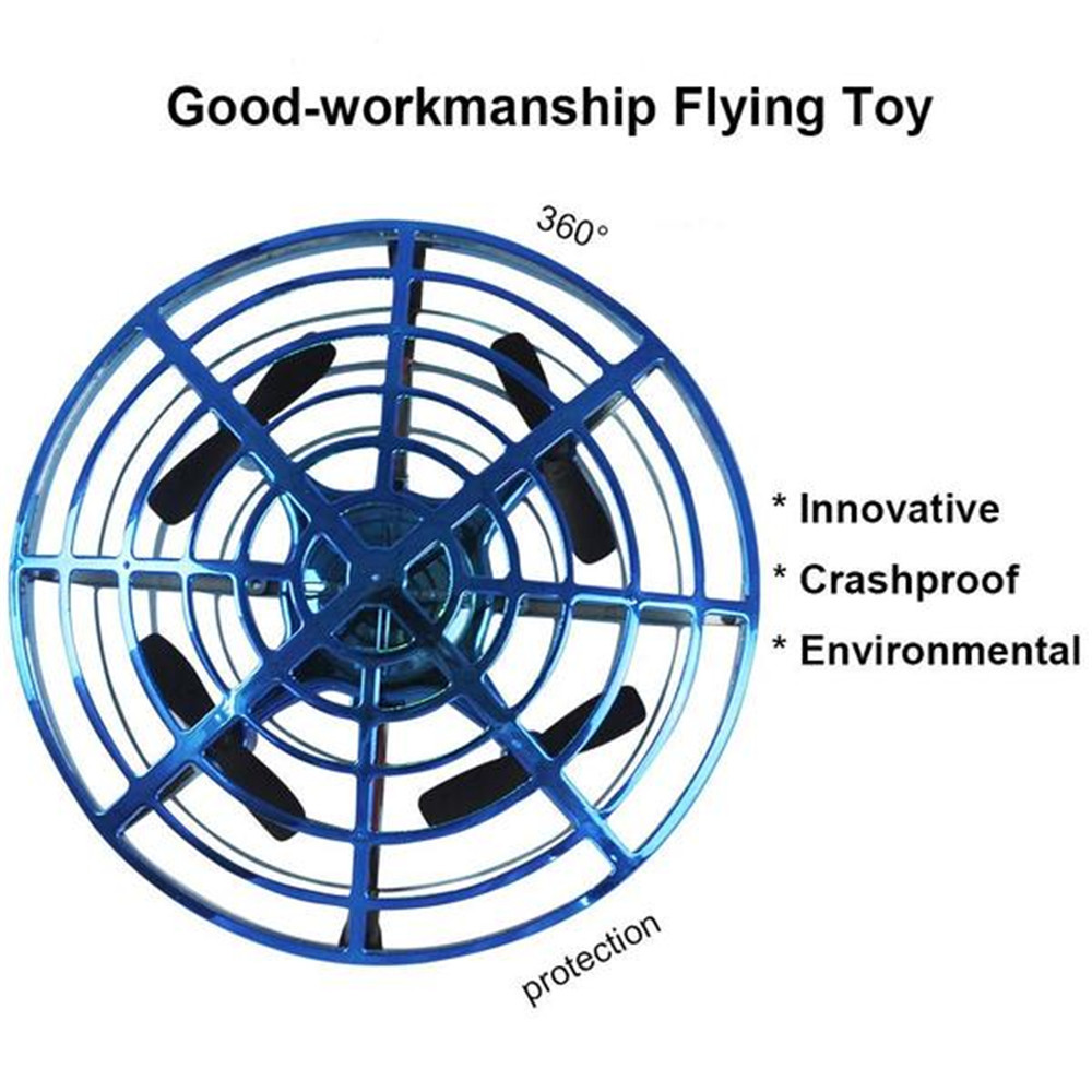 Anti-collision Flying Helicopter Magic Hand UFO Ball Aircraft Sensing Mini Induction Drone Kids Electric Electronic Toy 3