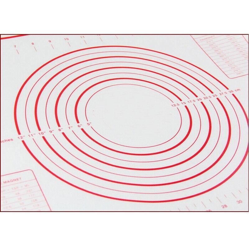 60 40cm platinum silicone dough mat glass fiber reinforced nonstick can put the oven pasta tools. Black Bedroom Furniture Sets. Home Design Ideas