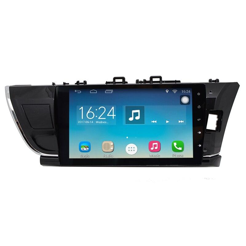 Car Multimedia Player for Toyota Corolla RHD 2013 2014 2015 2016 Car DVD GPS Navigation FM Radio Bluetooth