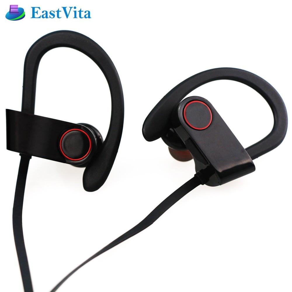 EastVita Bluetooth Earphone Sports mini Earphoens Wireless HiFi Music Stereo Earpiece for iPhone for Xiaomi fone de ouvido EJ03 2017 new 2 in 1 mini bluetooth headset phone usb car charger fone de ouvido micro earpiece wireless earphone for xiaomi mi6 mi 6