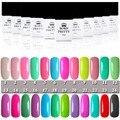 Born Pretty Candy Color Soak Off UV Gel Nail Art Gel Polish Colorful Gel Polish Color #1~24