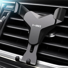 Universal Car Phone Holder For Phone GPS In Car Air Vent Mount Stand Mobile Holder For iPhone X Xs Xr Smartphone Gravity Bracket universal gravity air vent mount gps stand car phone holder bracket supplies gravity car holder for phone in car air vent clip m